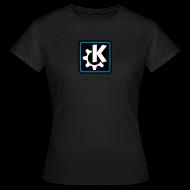 T-Shirts ~ Women's T-Shirt ~ Women's Classic Tshirt - K logo