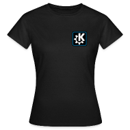 T-Shirts ~ Women's T-Shirt ~ Women's Classic Tshirt - K logo (off centered)