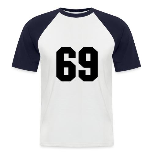 69 - Männer Baseball-T-Shirt