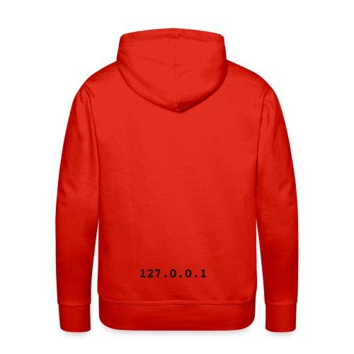 127.0.0.1 - Sweat-shirt à capuche Premium pour hommes