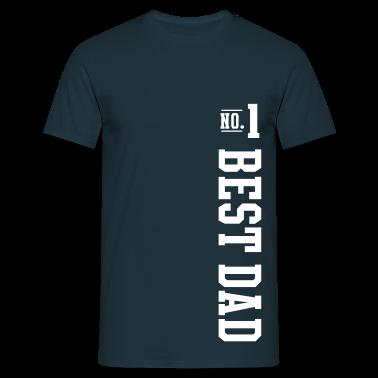 No.1 BEST DAD T-Shirt