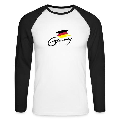 Germany - Männer Baseballshirt langarm