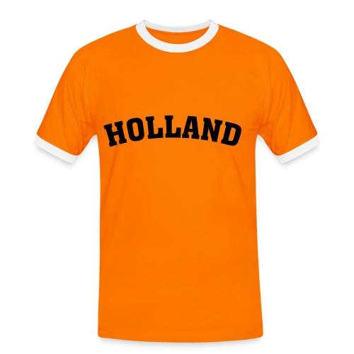 HOLLAND - Männer Kontrast-T-Shirt