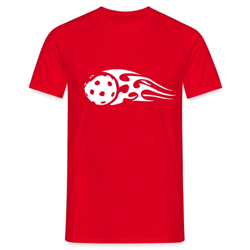 Ball On Fire - Männer T-Shirt