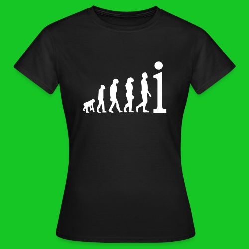 Evolutie damesshirt - Vrouwen T-shirt