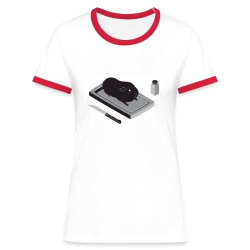 Dames contrast shirt - Vrouwen contrastshirt