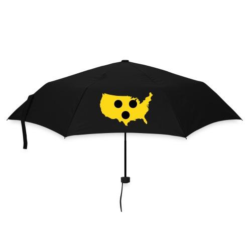 Der Blindenschirm USA - Regenschirm (klein)