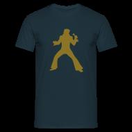 T-shirts ~ Herre-T-shirt ~ Golden Elviss