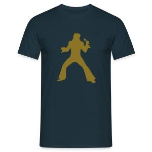 Golden Elviss - Herre-T-shirt