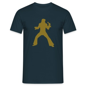 Golden Elviss - Herre-T-shirt