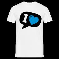 T-shirts ~ Herre-T-shirt ~ Tweet love