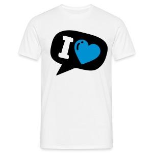 Tweet love - Herre-T-shirt