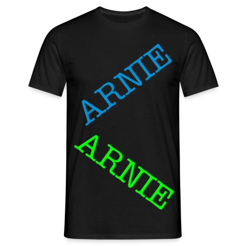 crisscross arnie - Men's T-Shirt