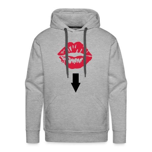 mund02 sweat&capuche (h) gris - Sweat-shirt à capuche Premium pour hommes