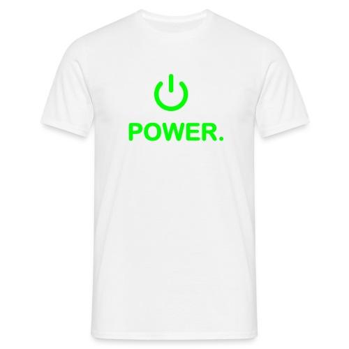 Mens Power shirt - Men's T-Shirt