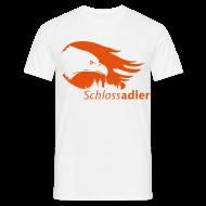 T-Shirts ~ Männer T-Shirt ~ Schlossadler-Shirt, orange
