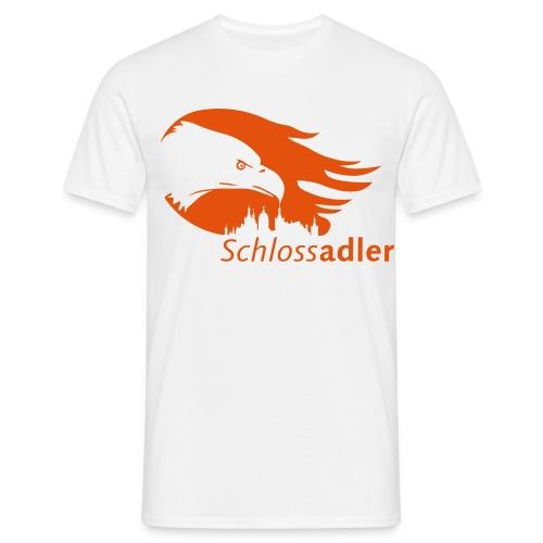 Schlossadler-Shirt, orange - Männer T-Shirt