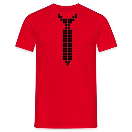 Digital tie - Men's T-Shirt