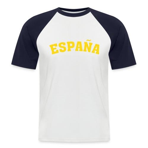 España - Camiseta béisbol manga corta hombre