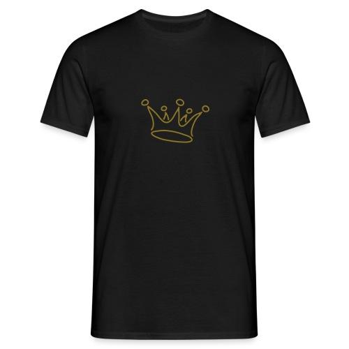 Crown_Gold - Maglietta da uomo