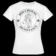 T-Shirts ~ Women's T-Shirt ~ DBag Resistance (Female)
