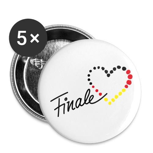 Finale - Buttons mittel 32 mm (5er Pack)