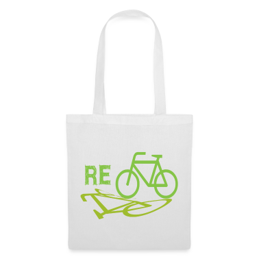 White Cycle Recycle Bags