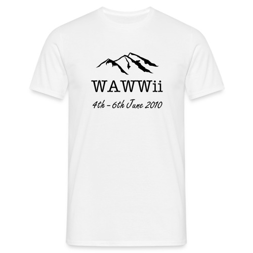 WAWWii 2010 shirt - Men's T-Shirt