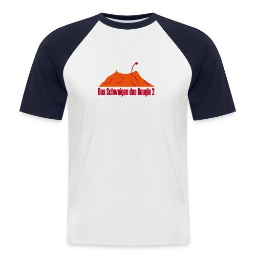 schweigen - Männer Baseball-T-Shirt