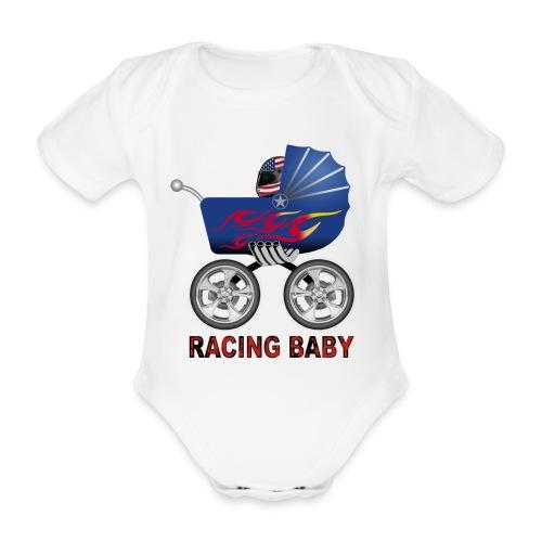 Racing baby - Body bébé bio manches courtes