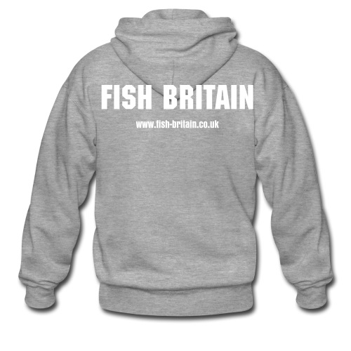 Fish Britain Hooded Jacket - Men's Premium Hooded Jacket