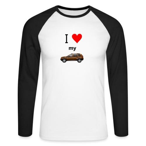 I love my Duster langärmliches Baseballshirt Männer - Männer Baseballshirt langarm