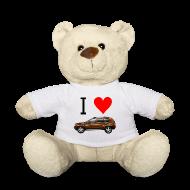 Kuscheltiere ~ Teddy ~ I Love Duster Teddy