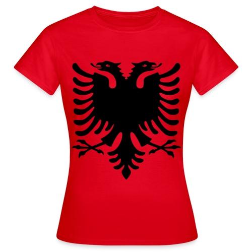 AlbaniaShirt - Frauen T-Shirt