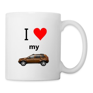 I Love Duster Tasse - Tasse