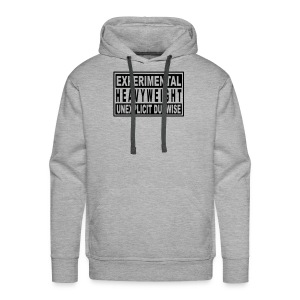 Experimental heavyweight unexplicit dubwise - Men's Premium Hoodie