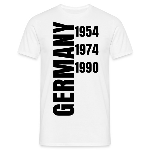 Germany 1954-1990 - Men's T-Shirt