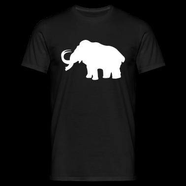 Prehistoric Ice Age elefante mammut T-shirt