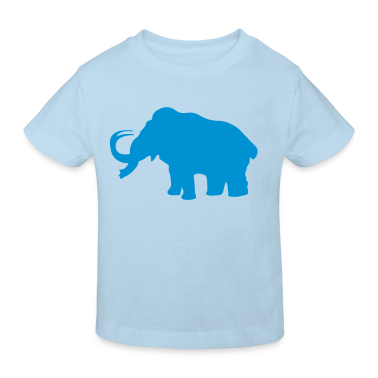 Prehistoric Ice Age mammoth elephant Kids' Shirts