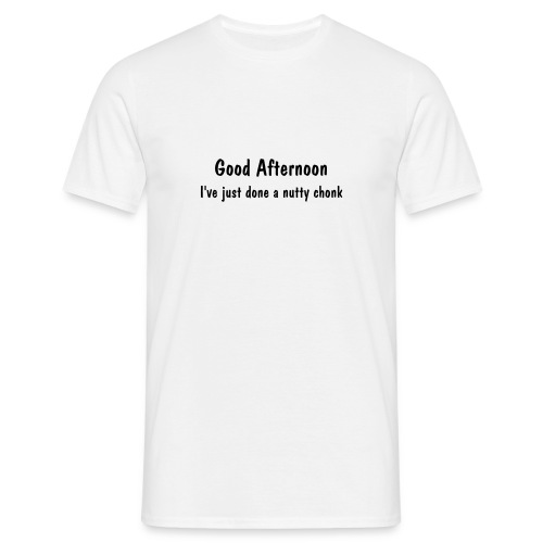 Good Afternoon - Men's T-Shirt