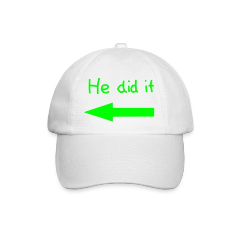 Baseball pet  He did it   - Baseballcap
