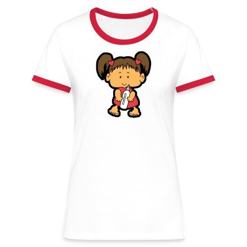 Babygirl T-Shirt... - Frauen Kontrast-T-Shirt