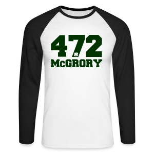 McGrory 472 - Men's Long Sleeve Baseball T-Shirt