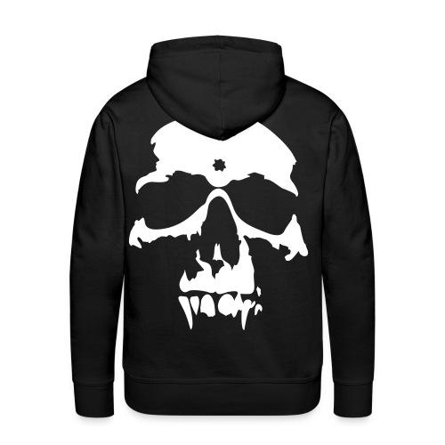 AmBull hættetrøje - Dødningehoved - Herre Premium hættetrøje