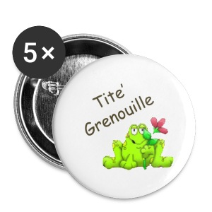 Collection Tite'Grenouile - Badge petit 25 mm
