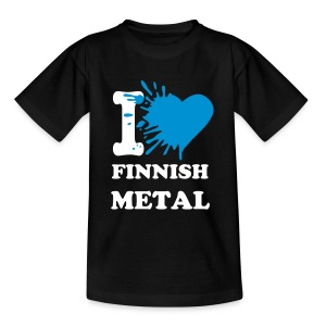 I love finnish metal - Teenage T-shirt