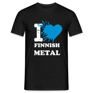 I love finnish metal - Men's T-Shirt