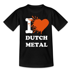 I love dutch metal - Teenage T-shirt