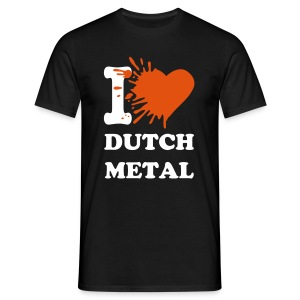 I love dutch metal - Men's T-Shirt