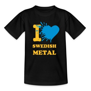I love swedish metal - Teenage T-shirt